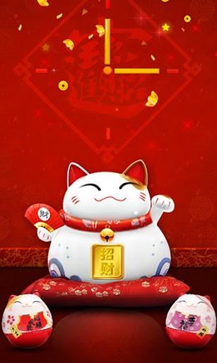 Lucky Cat Wallpaper Lucky cat live lock app for 307x512