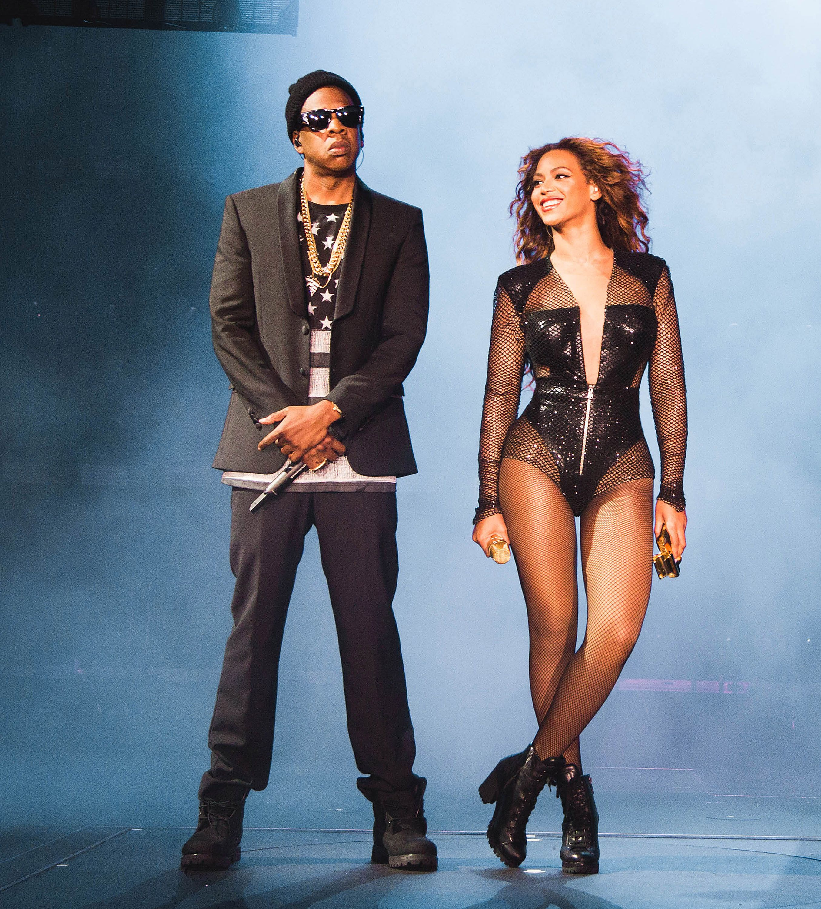 Beyonce and Jay Z on tour ap Hd Wallpapers 2710x3000
