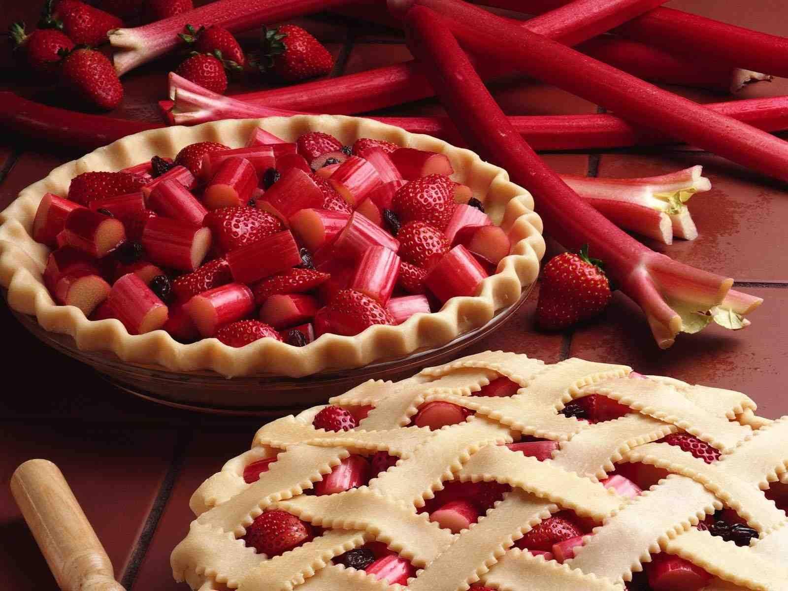 Strawberry Pie   cooking Wallpaper 1600x1200