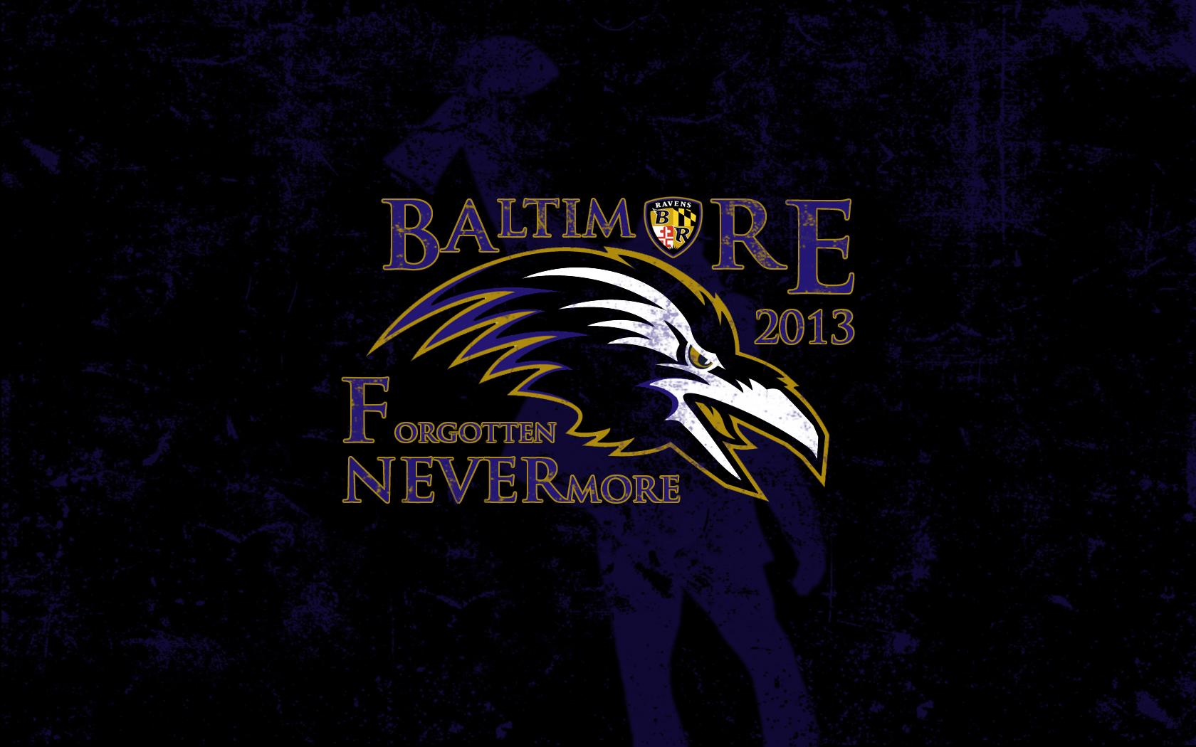 Baltimore Ravens Windows Theme 1680x1050