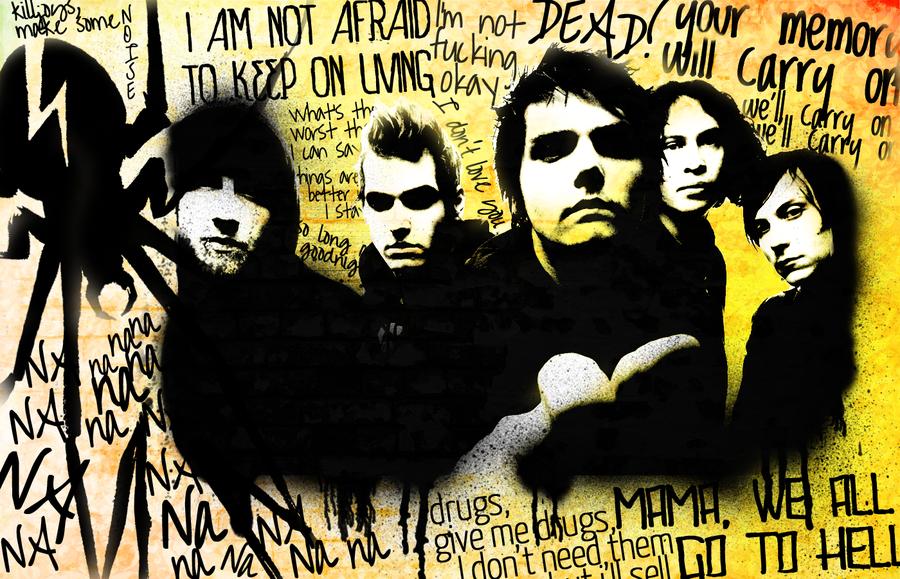 My Chemical Romance wallpaper by tavinhovid 900x579