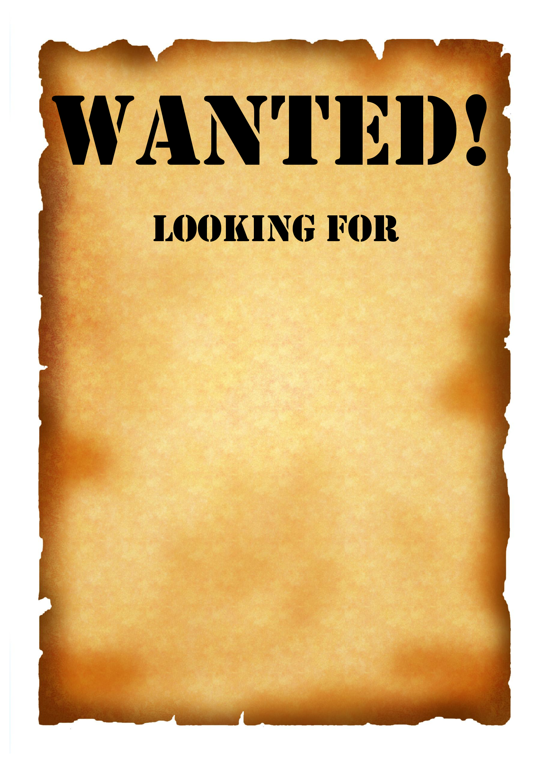 Wanted wallpaper wallpapersafari for Free wanted poster template