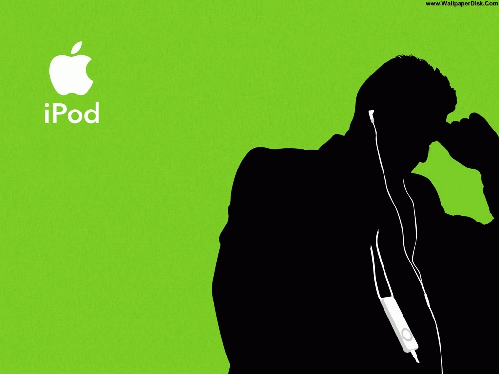 Best Apple MAC   Ipod Music 4 desktop wallpapers background 1024x768