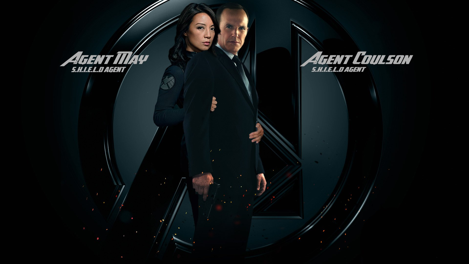 AGENTS OF SHIELD action drama sci fi marvel comic series crime 43 1920x1080