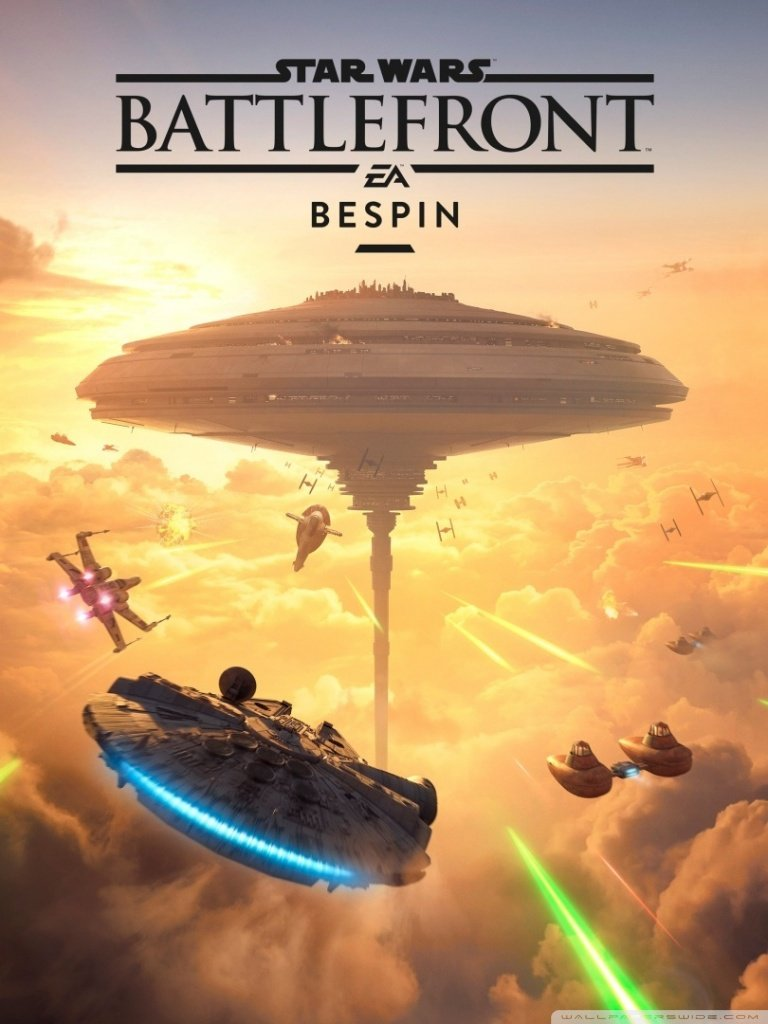 Star Wars Battlefront Bespin DLC 4K HD Desktop Wallpaper for 4K 768x1024