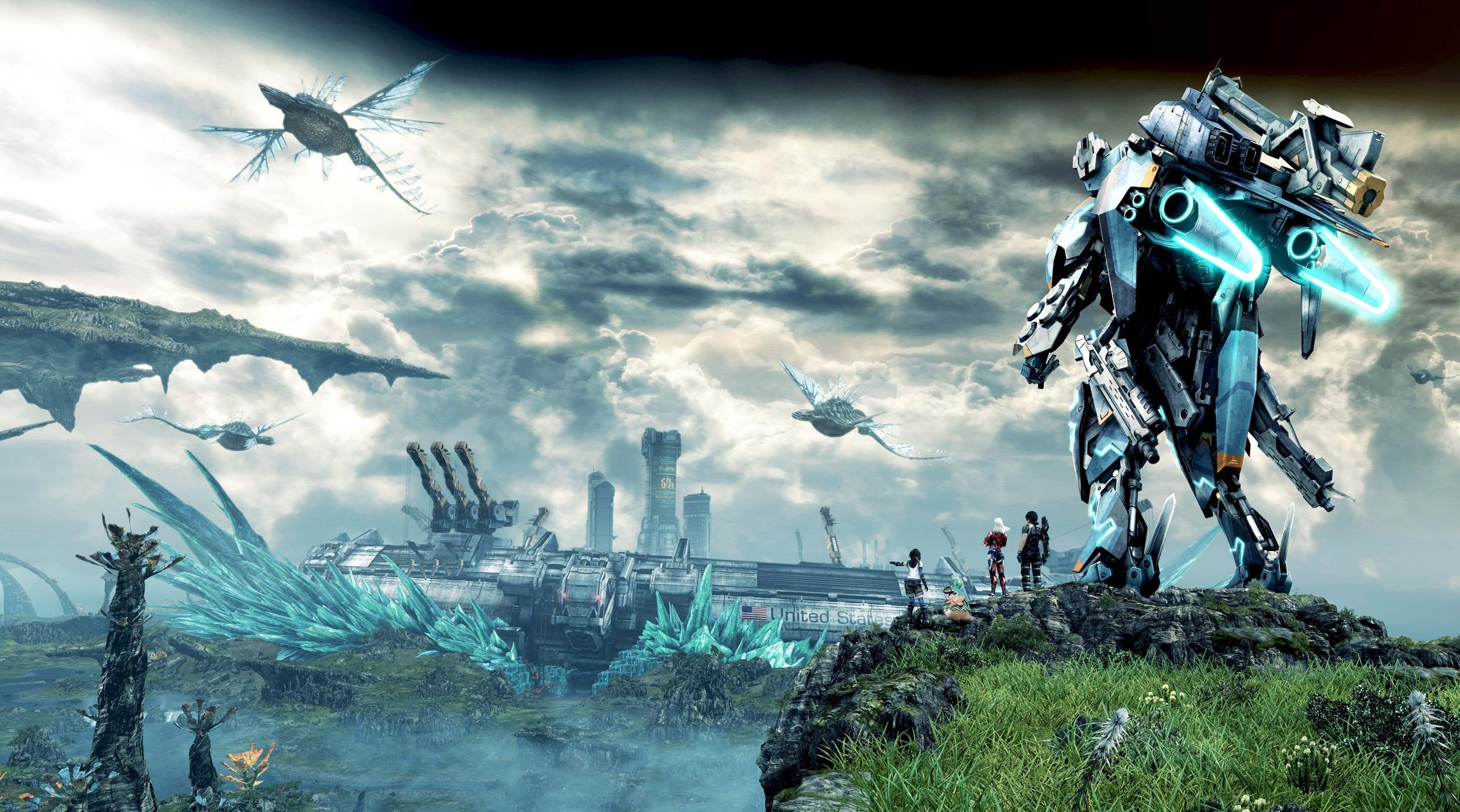 Xenoblade Chronicles X HD Wallpapers and Background Images   stmednet 2522x1403