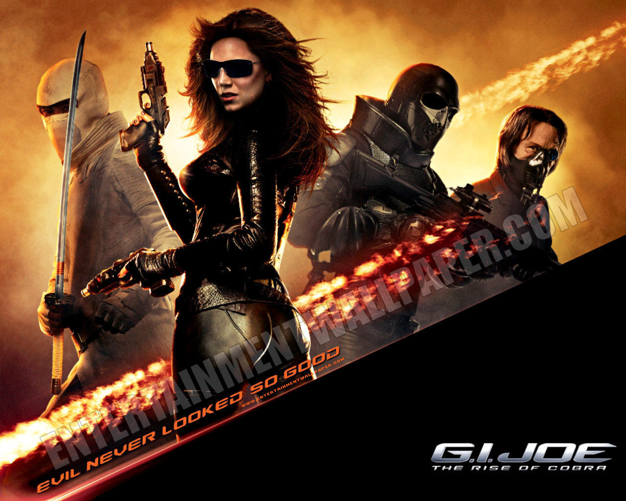 Joe The Rise of Cobra   GI Joe The Rise of Cobra Wallpaper 1280x1024