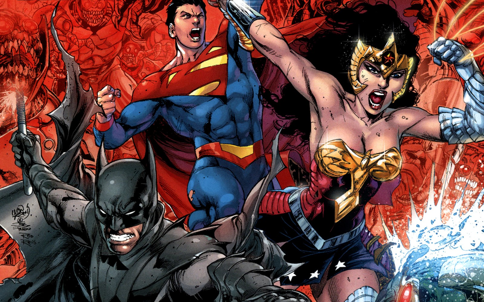 Dc Comic Wallpaper Wallpapersafari