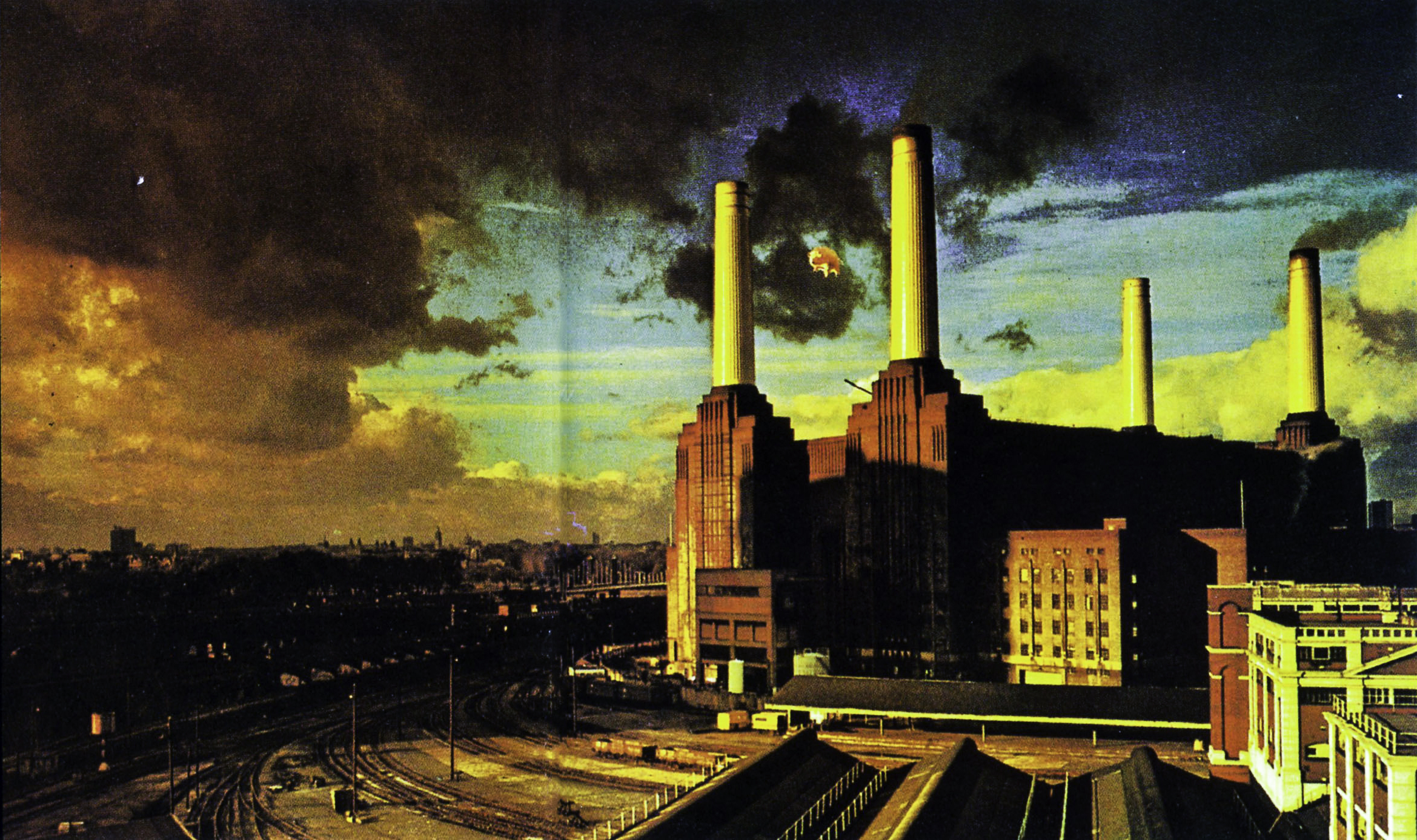 Pink Floyd Animals Wallpaper Wallpapersafari