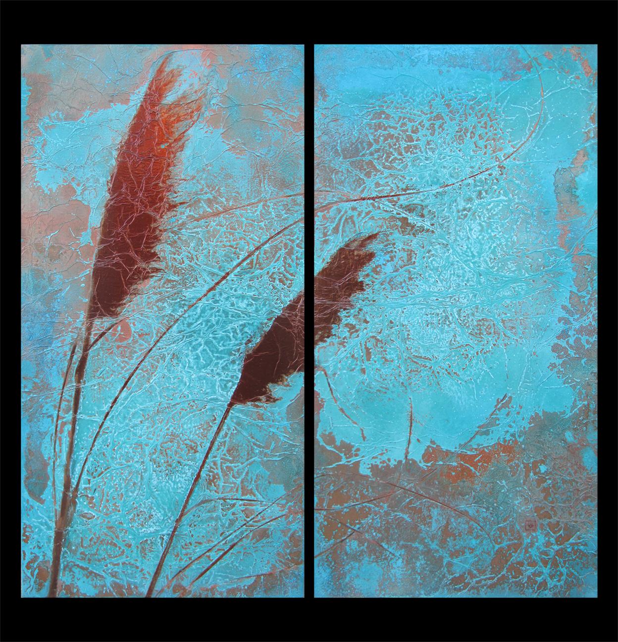 rePin image Copper Patina Wall Art 1248x1296