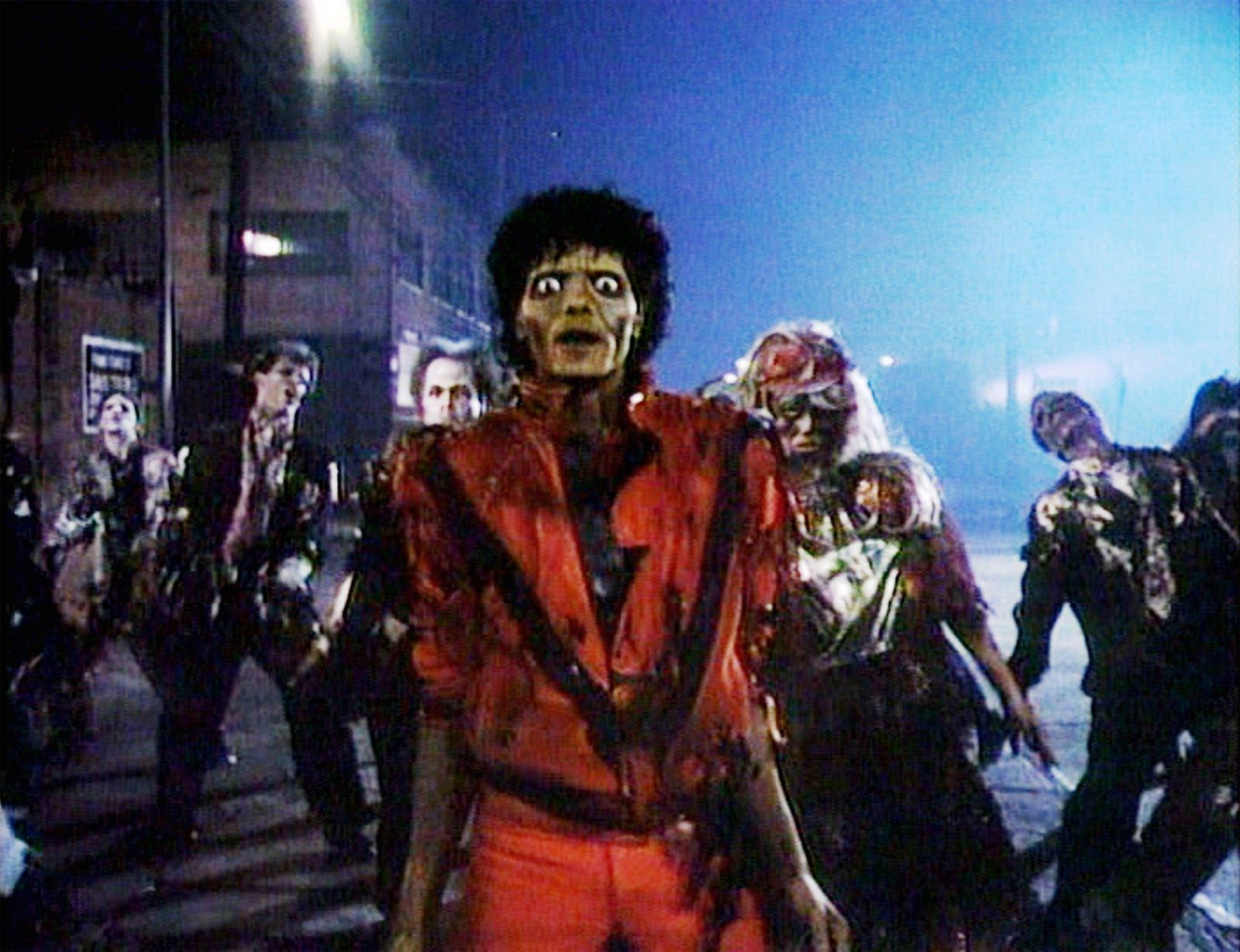 74 Michael Jackson Thriller Wallpapers On Wallpapersafari