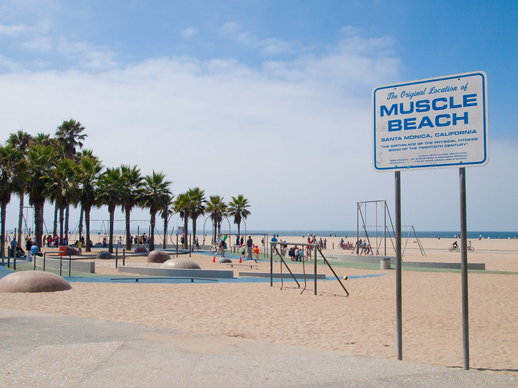 All sizes Muscle Beach Flickr   Photo Sharing 1024x768