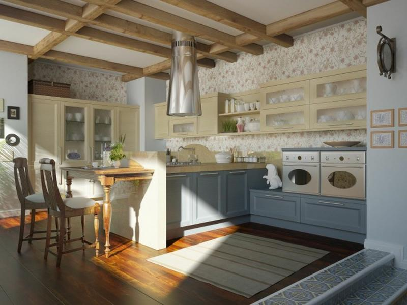 Traditional Kitchen Design Beautiful Wallpaper Design In Traditional 800x600