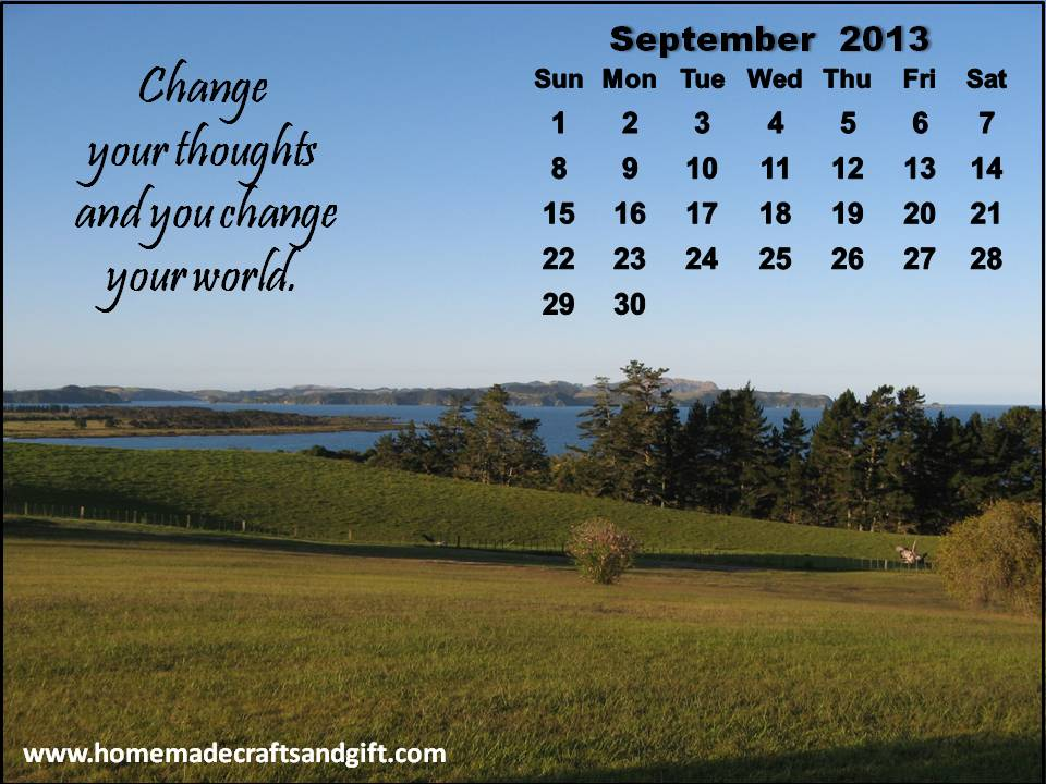 2015 Calendars Bookmarks Cards 9 Big September 2013 Calendar 960x720