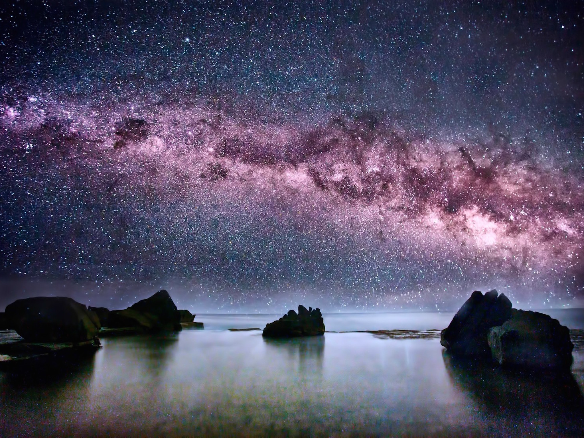 Milky Way Galaxy Wallpaper HD Galaxy Download WallpaperGeeks 2048x1536