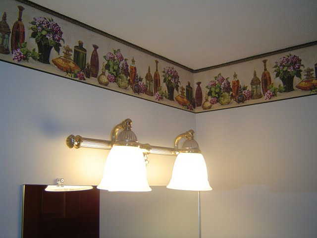 homeadditionpluscomBathroom Lights and Wallpaper 640x480