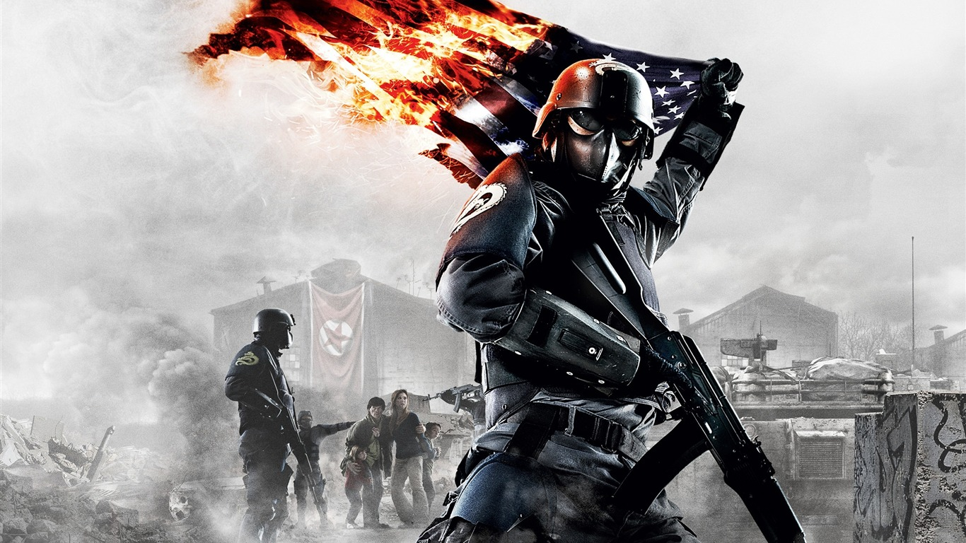 HOMEFRONT FPS game HD wallpaper 01   1366x768 wallpaper download 1366x768