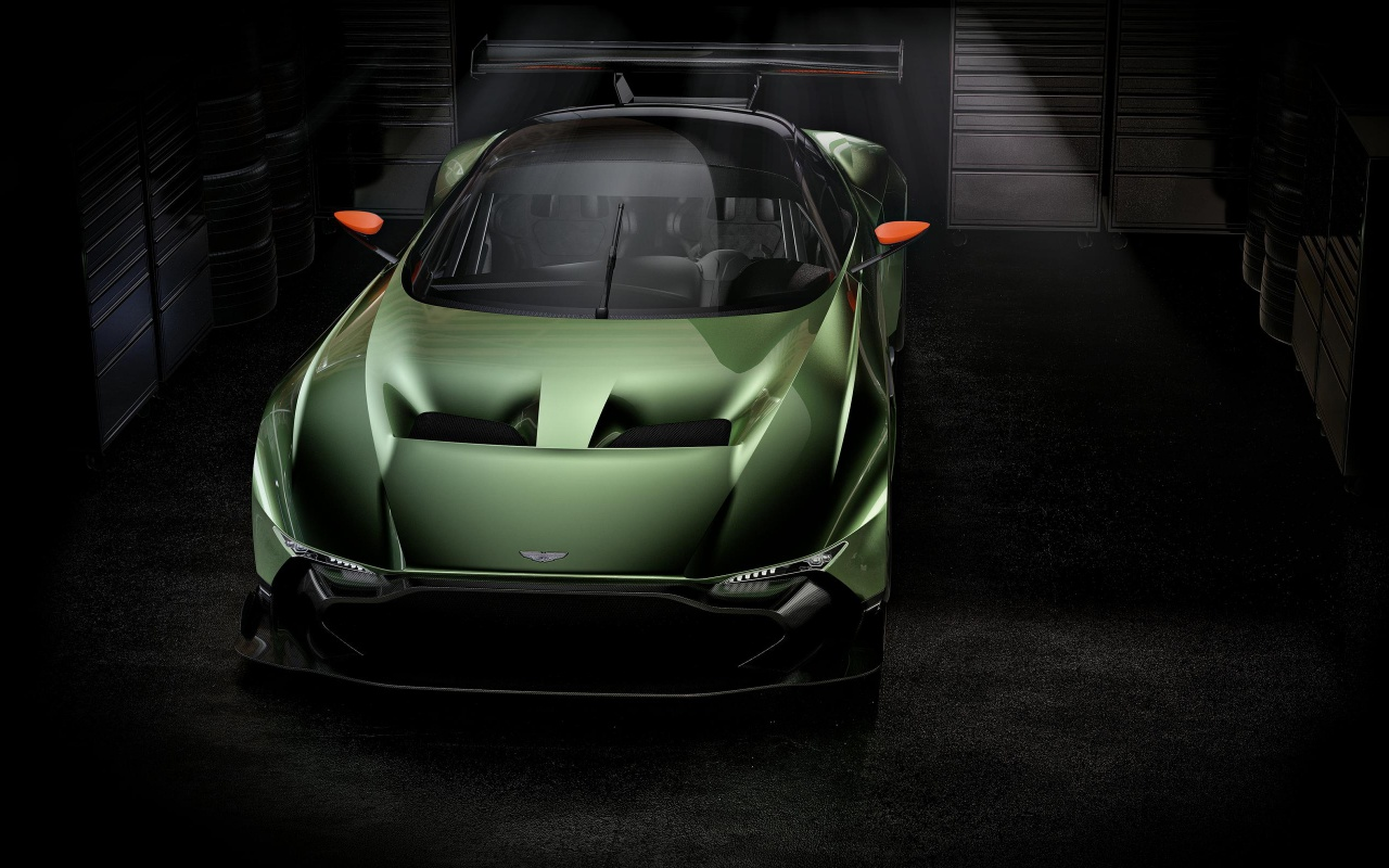 2016 Aston Martin Vulcan Wallpapers HD Wallpapers 1280x800