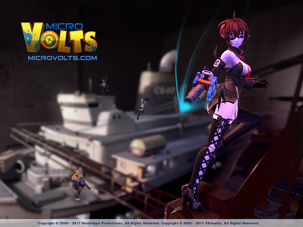 MicroVolts Wallpaper Pandora reigns the battle ship 1024x768