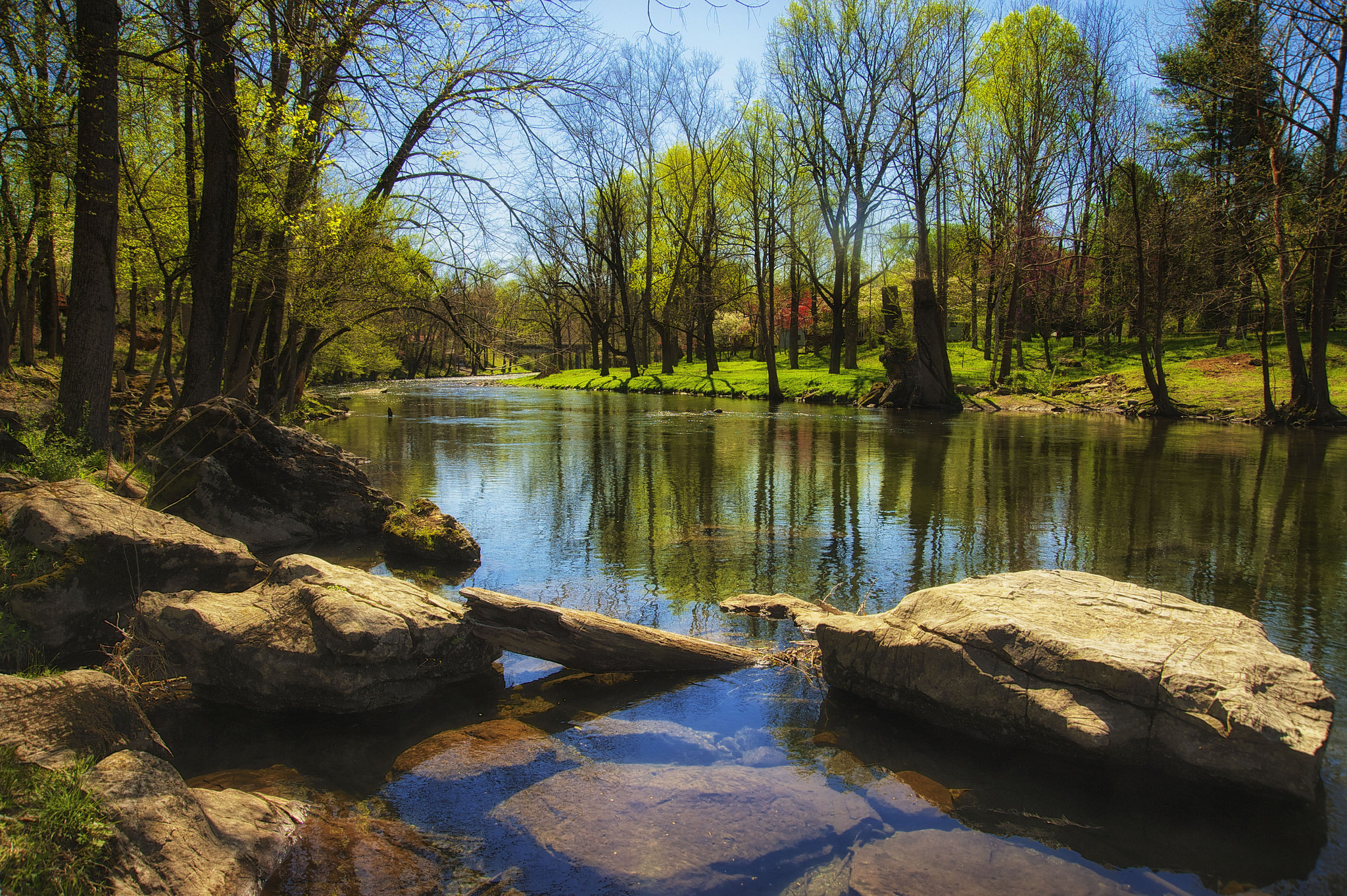what is a river spring