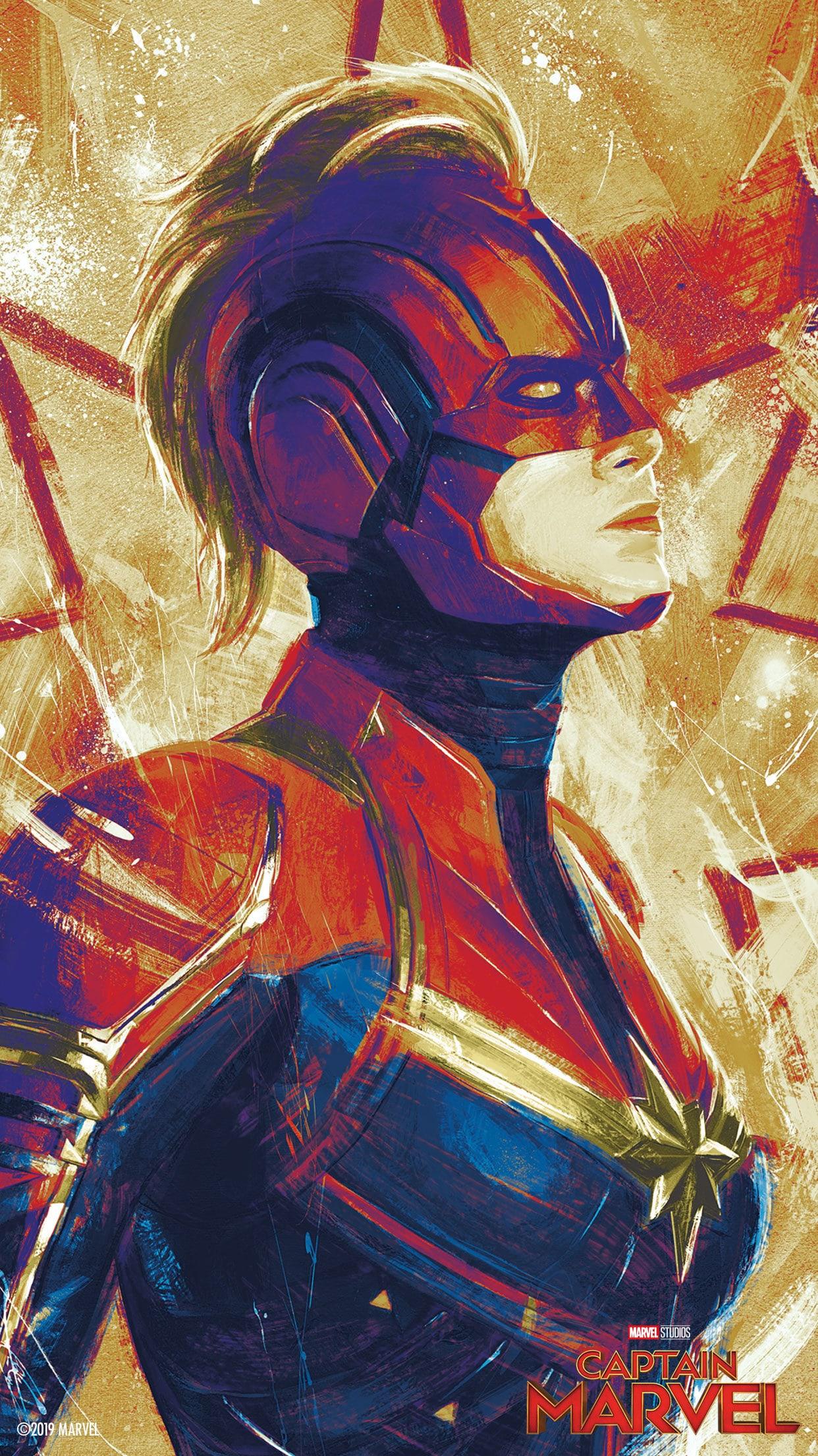 Marvel Studios Captain Marvel Mobile Wallpapers Disney Singapore 1242x2209