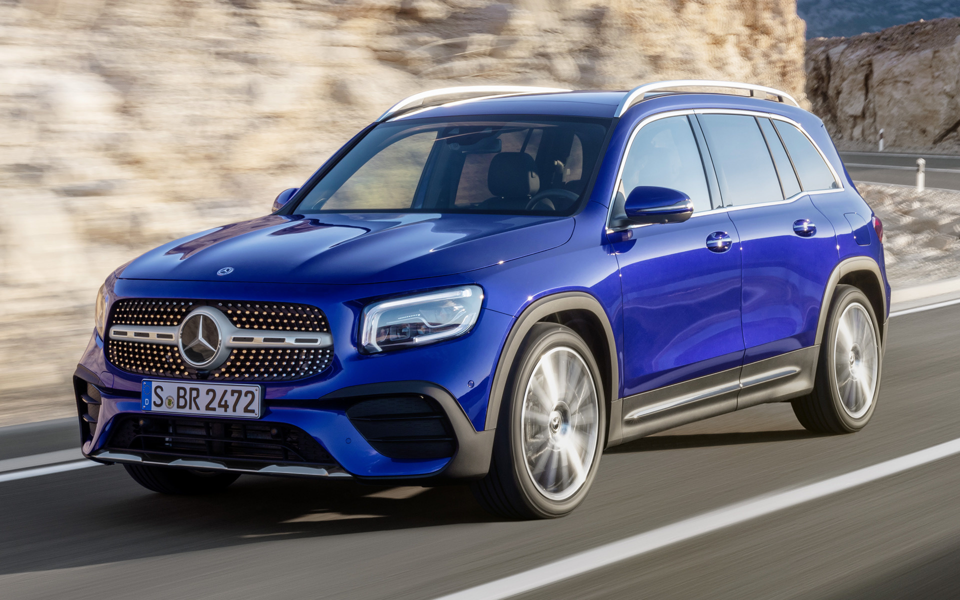2019 Mercedes Benz GLB Class AMG Line   Wallpapers and HD Images 1920x1200