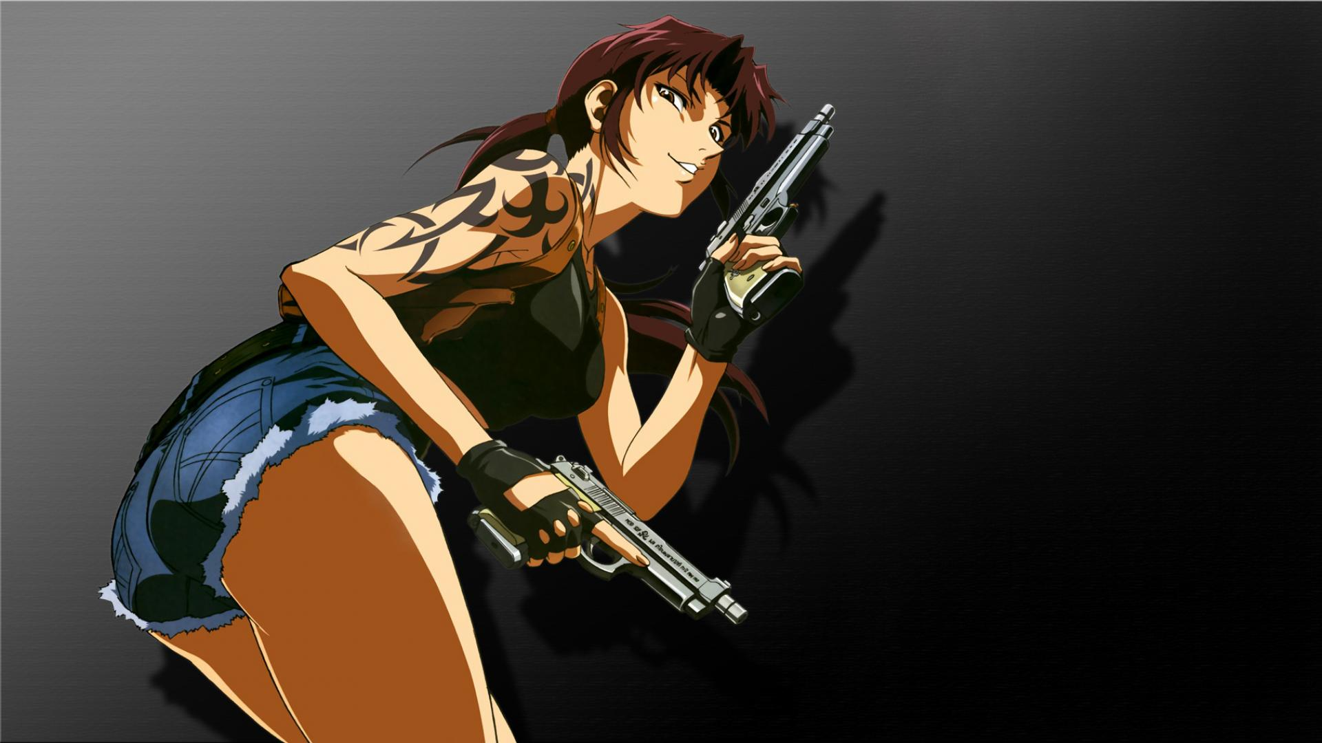 Free Download Black Lagoon Revy Hd 169 1280x720 1366x768 1600x900