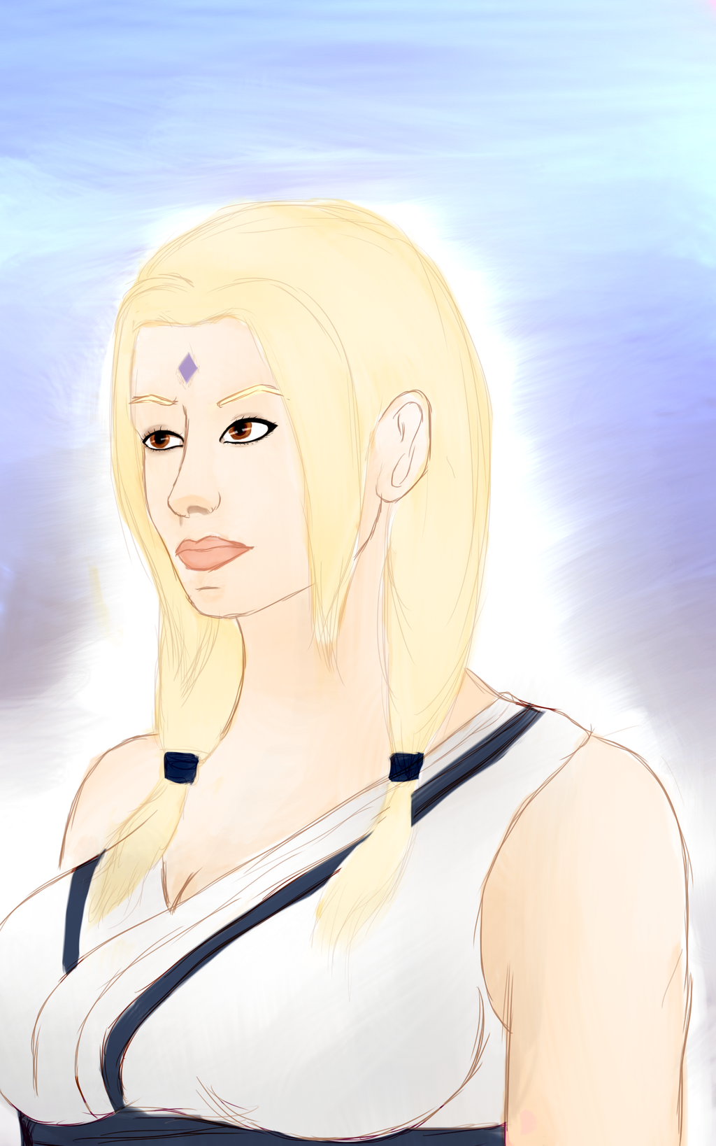 1024x1638px Lady Tsunade Wallpaper Wallpapersafari