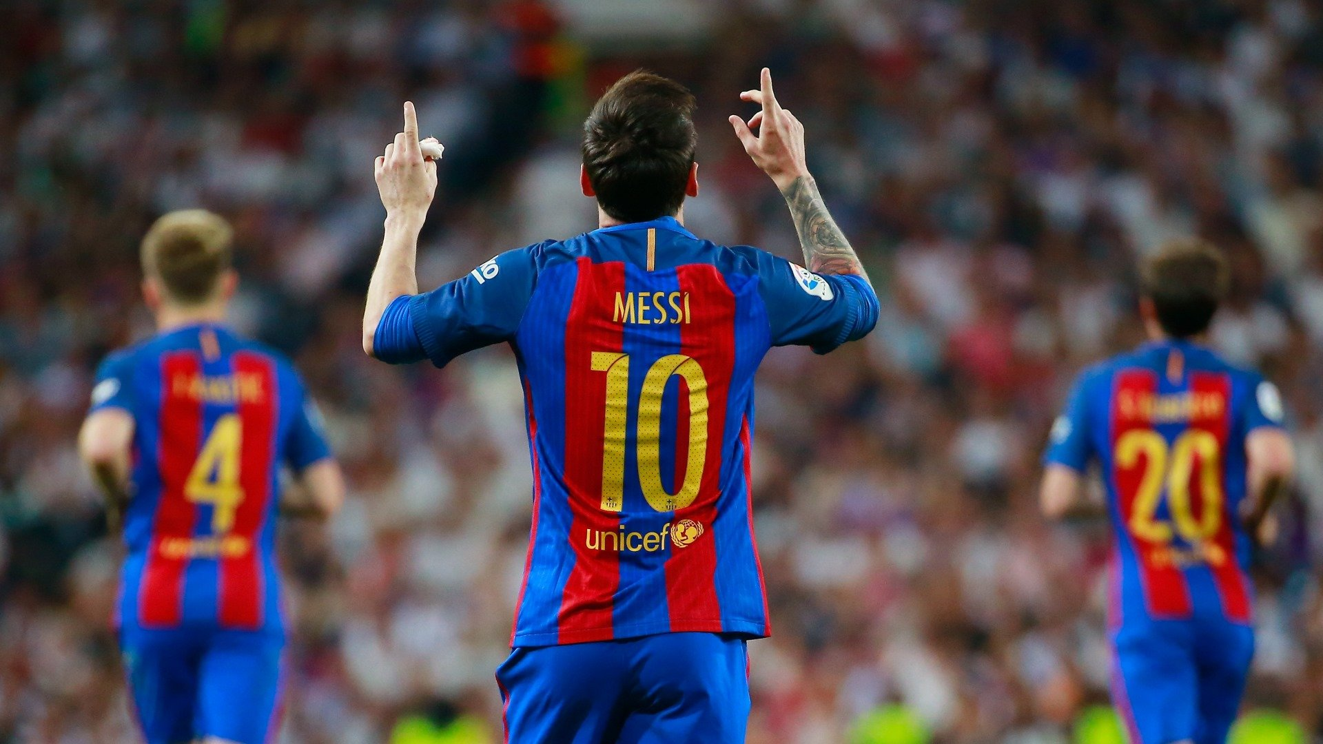 Do Real Madrid respect Lionel Messi They cant wait for 1920x1080