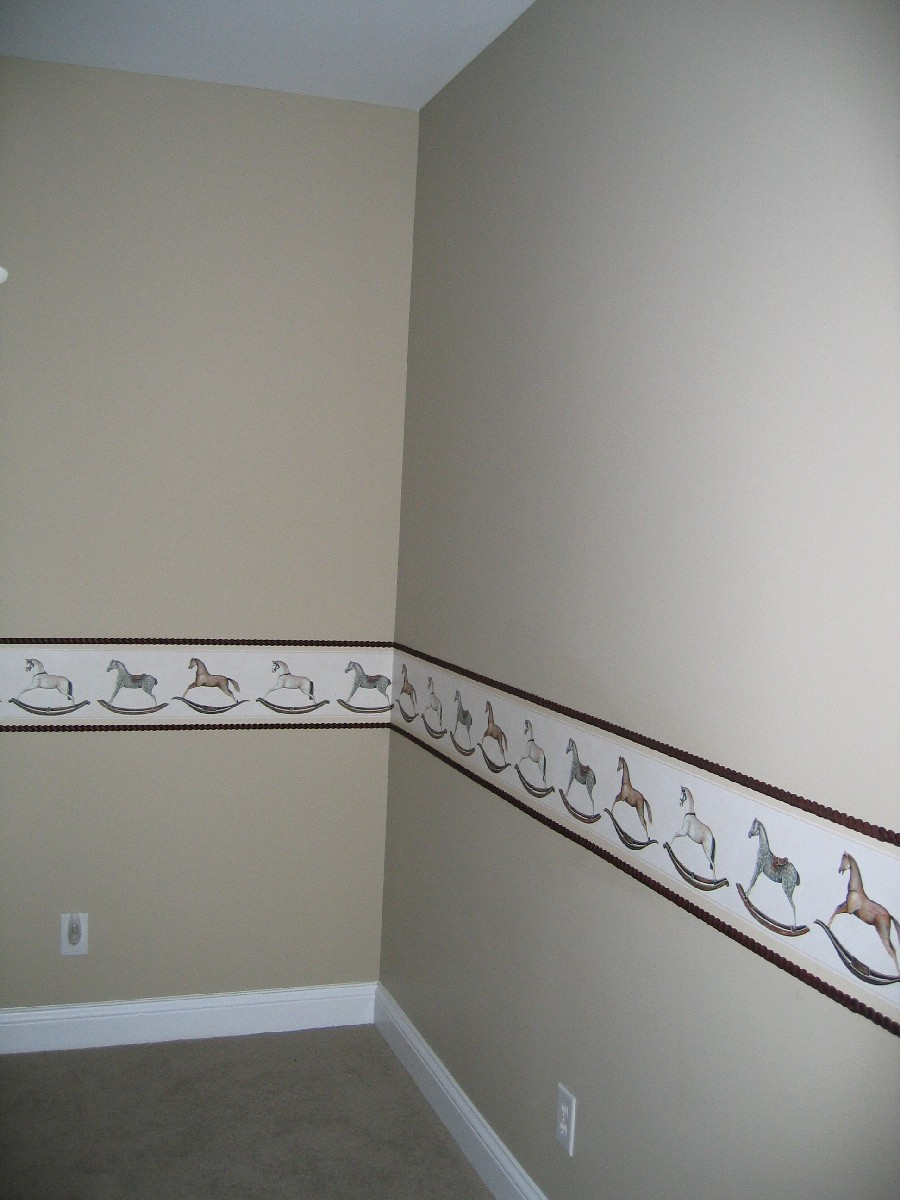 idea can be applied to any room with any border and any style molding 900x1200