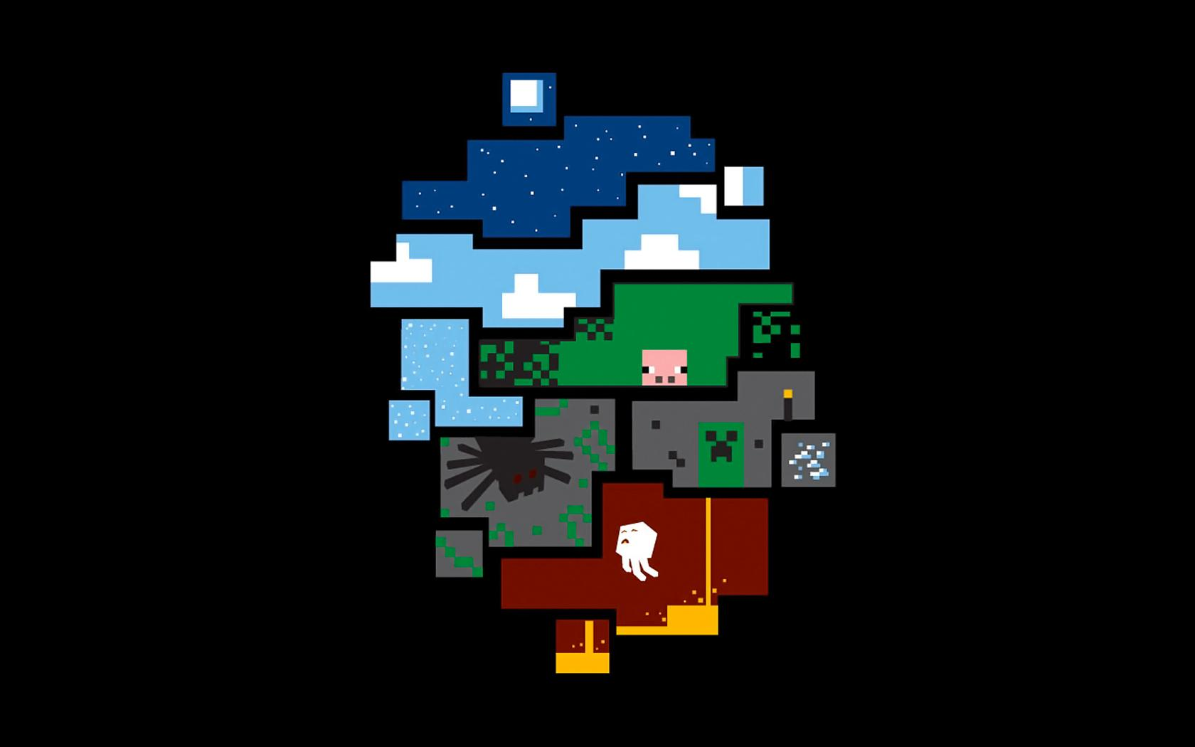 Minecraft Backgrounds For Desktop 1680x1050