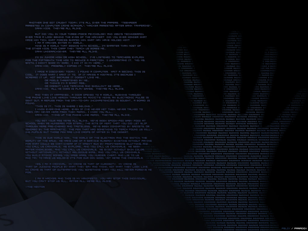 Hacking WallpaperS 1024x768