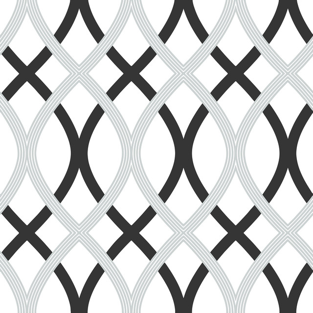 Lattice Peel and Stick Wallpaper 4 Rolls   Contemporary   Wallpaper 640x640