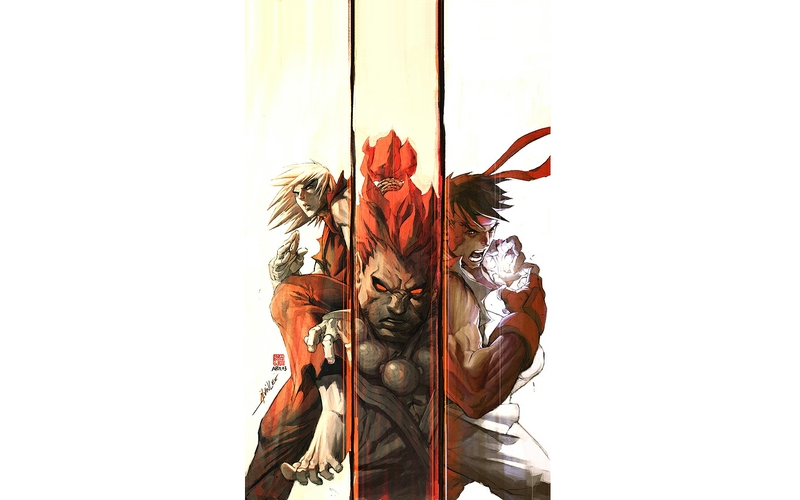 Free Download Fighterryu Street Fighter Ryu Akuma Ken Masters
