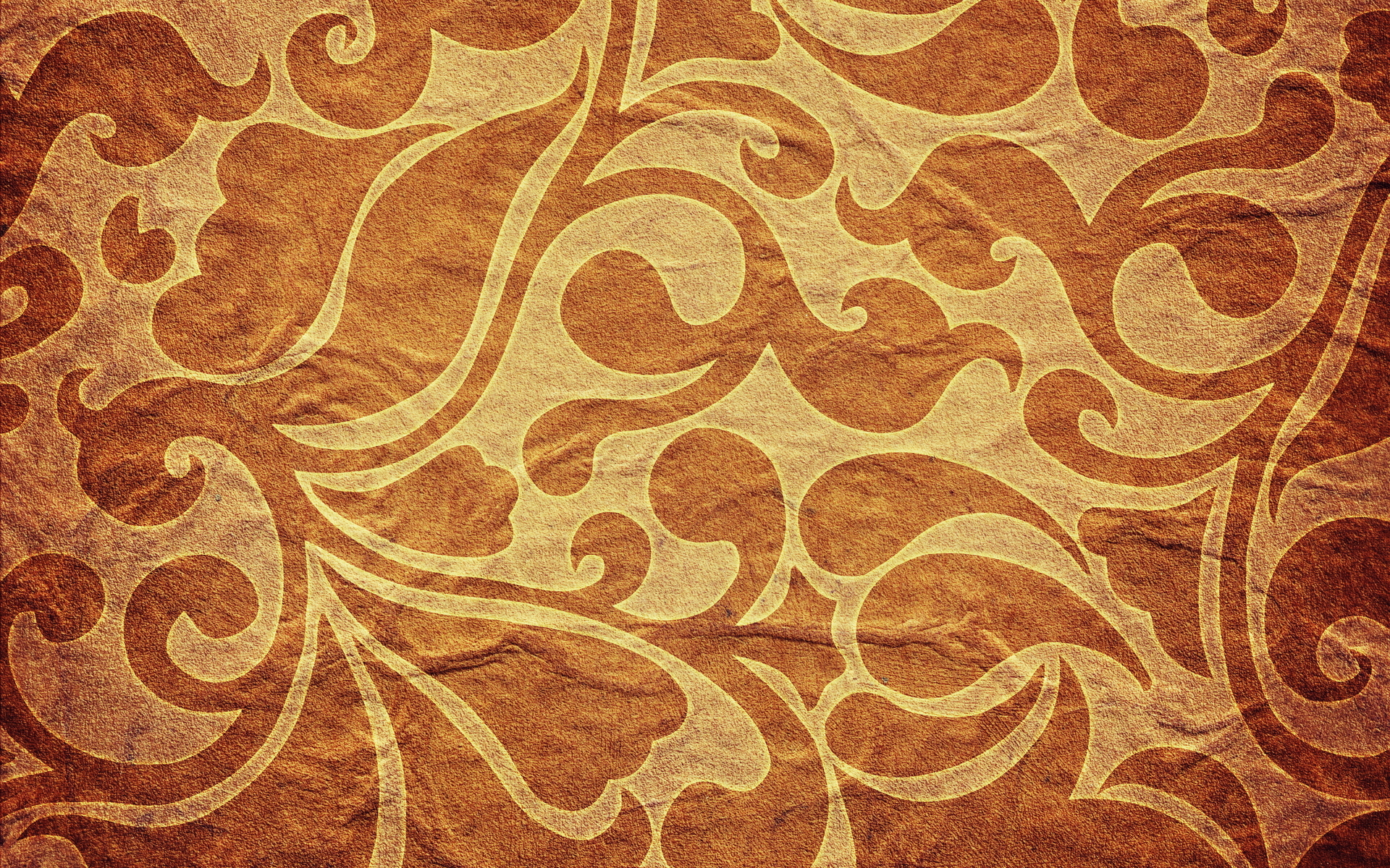 background pattern brown yellow gold drops petals wallpaper 1920x1200