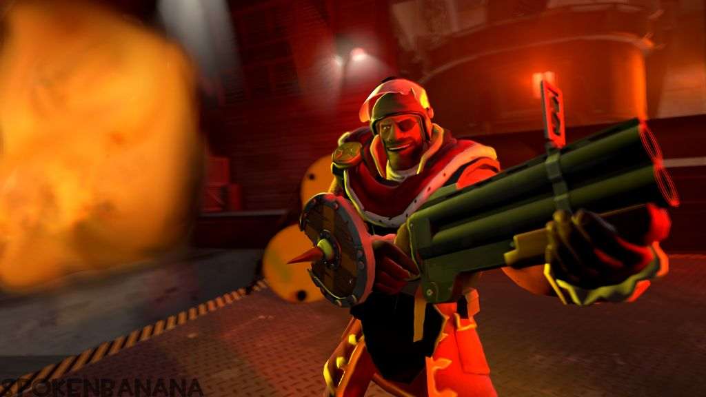 Demoman Wallpaper by SpokenBananaSFM 1024x576