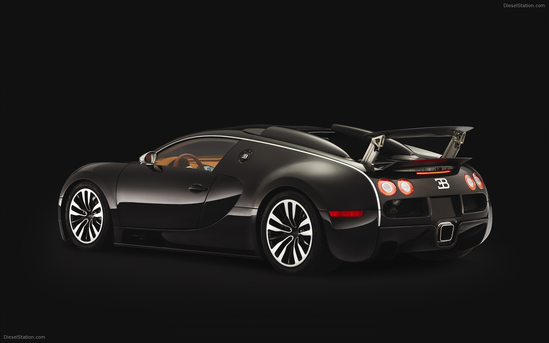 Bugatti EB 164 Veyron Sang Noir Widescreen Exotic Car 1920x1200