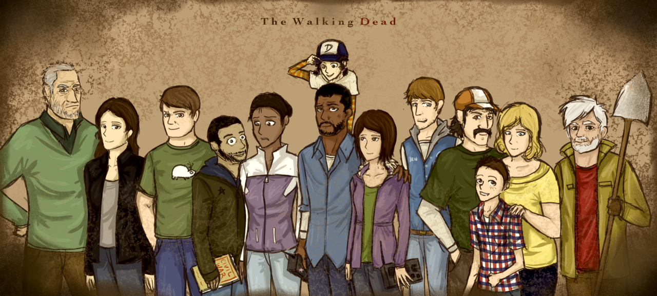 The Walking Dead Game  Reunited by Solastyre 1280x578