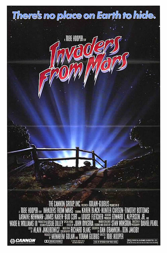 INVADERS FROM MARS REMAKE   Alien Invasion B Movie Posters 712x1080