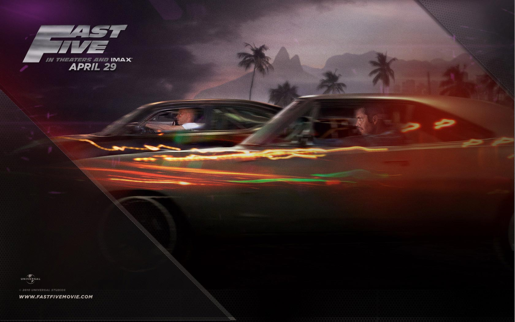 Fast Five   Movie Posters Wallpaper 25099724 1680x1050