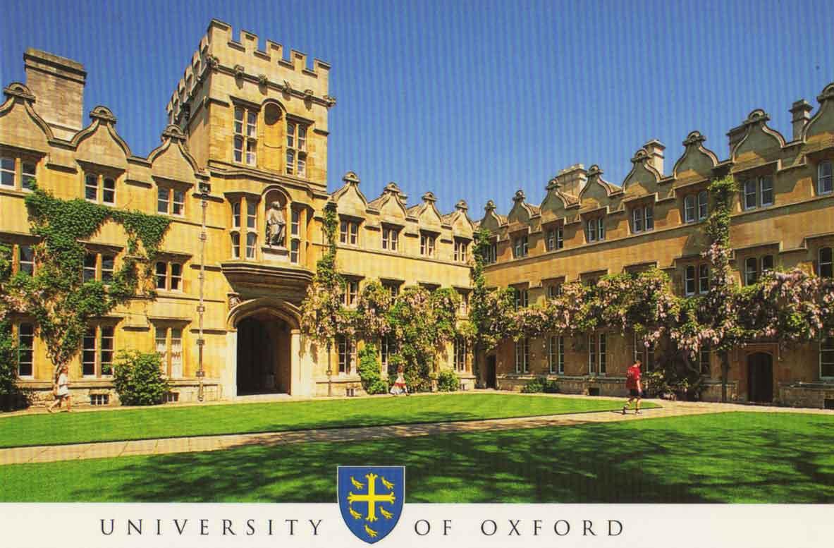 University of Oxford Examination School 1183x777