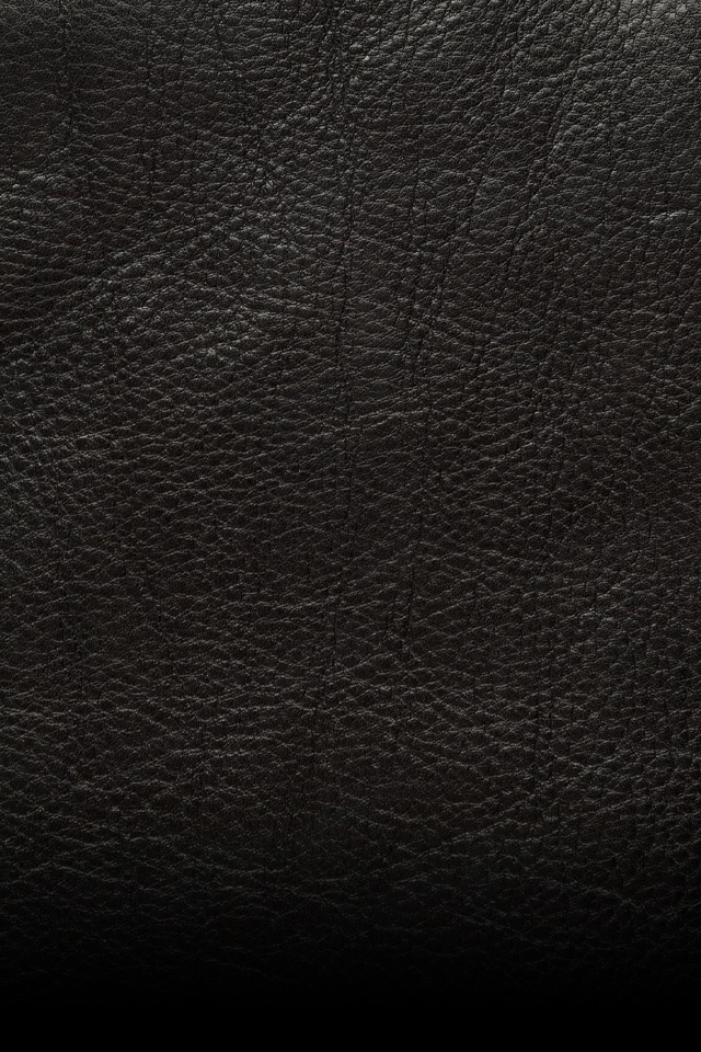 Black Leather Material   iPhone Wallpaper 640x960