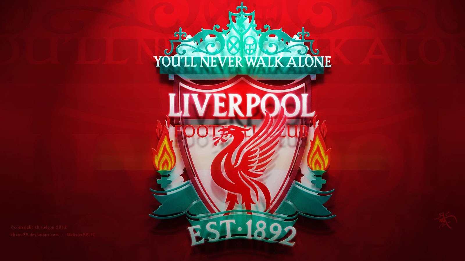 Liverpool Logo Walpapers HD Collection Download Wallpaper 1600x900