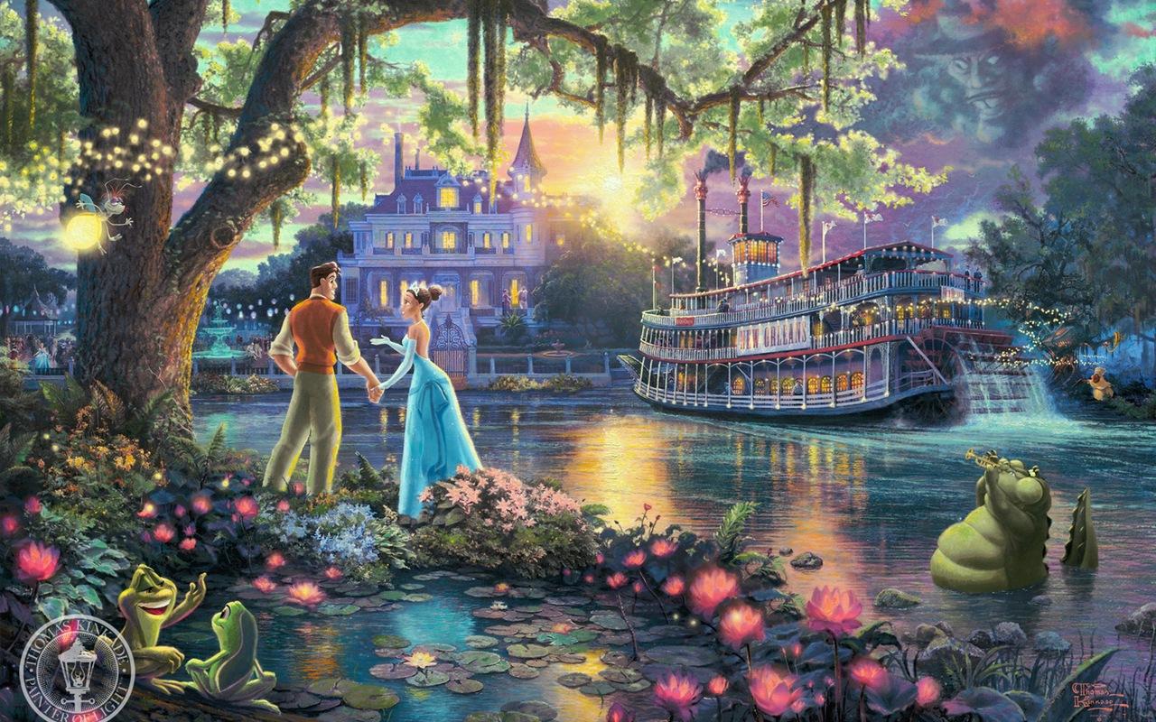 Disney Princess images Thomas Kinkade Disney Dreams wallpaper photos 1280x800