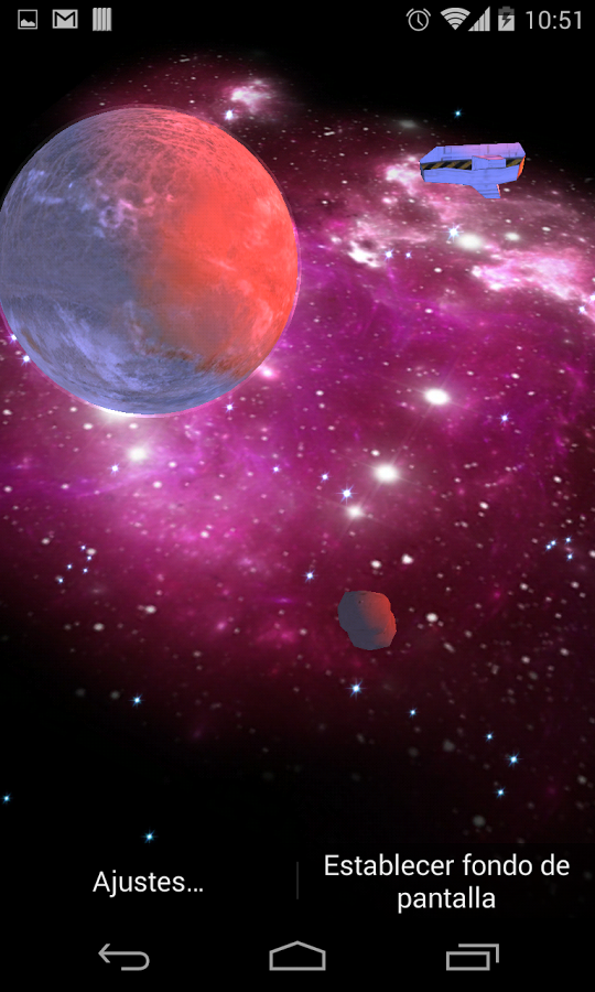 3D Galaxy Live Wallpaper Full   Android Apps on Google Play 540x900
