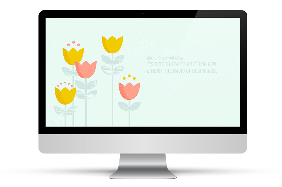 spring time beauty to your desktop with this inspirational wallpaper 916x610