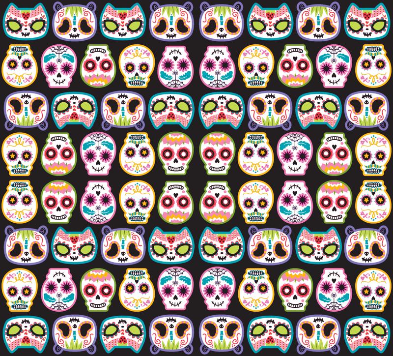 Sugar Skulls Wallpaper Sugar skulls 800x724