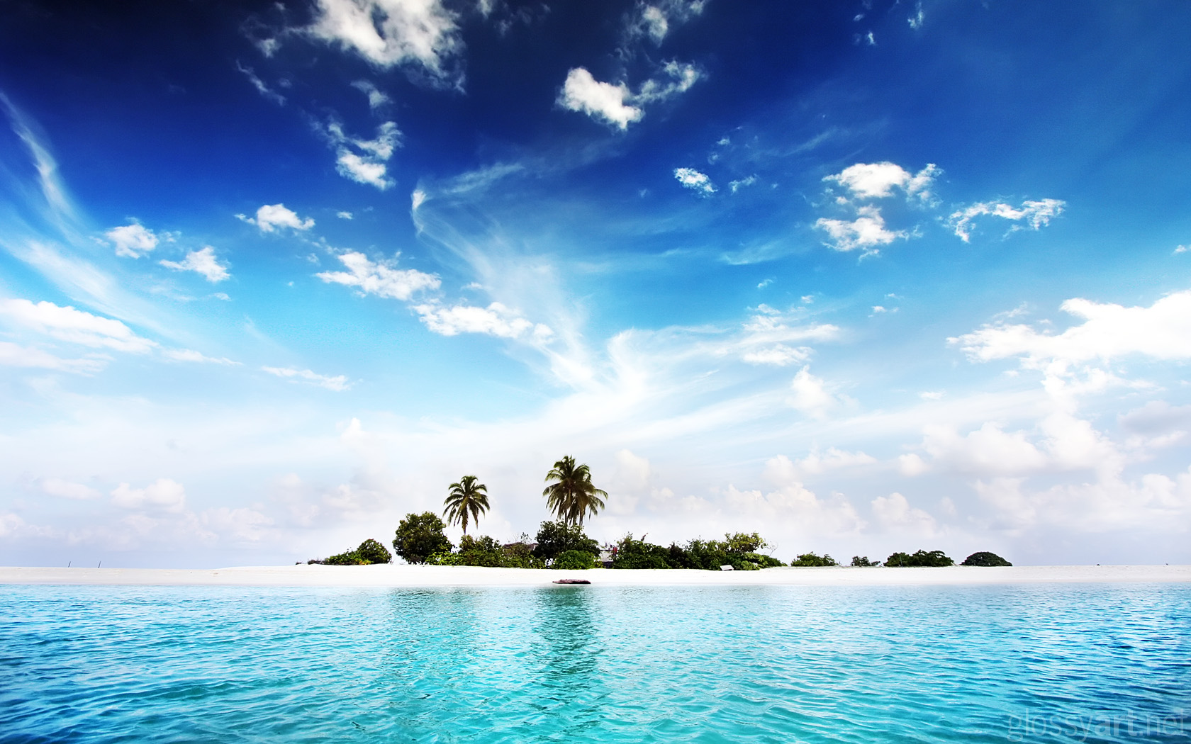 Island HD Wallpaper Becautiful Dream Island Wallpapers for Desktop 1680x1050