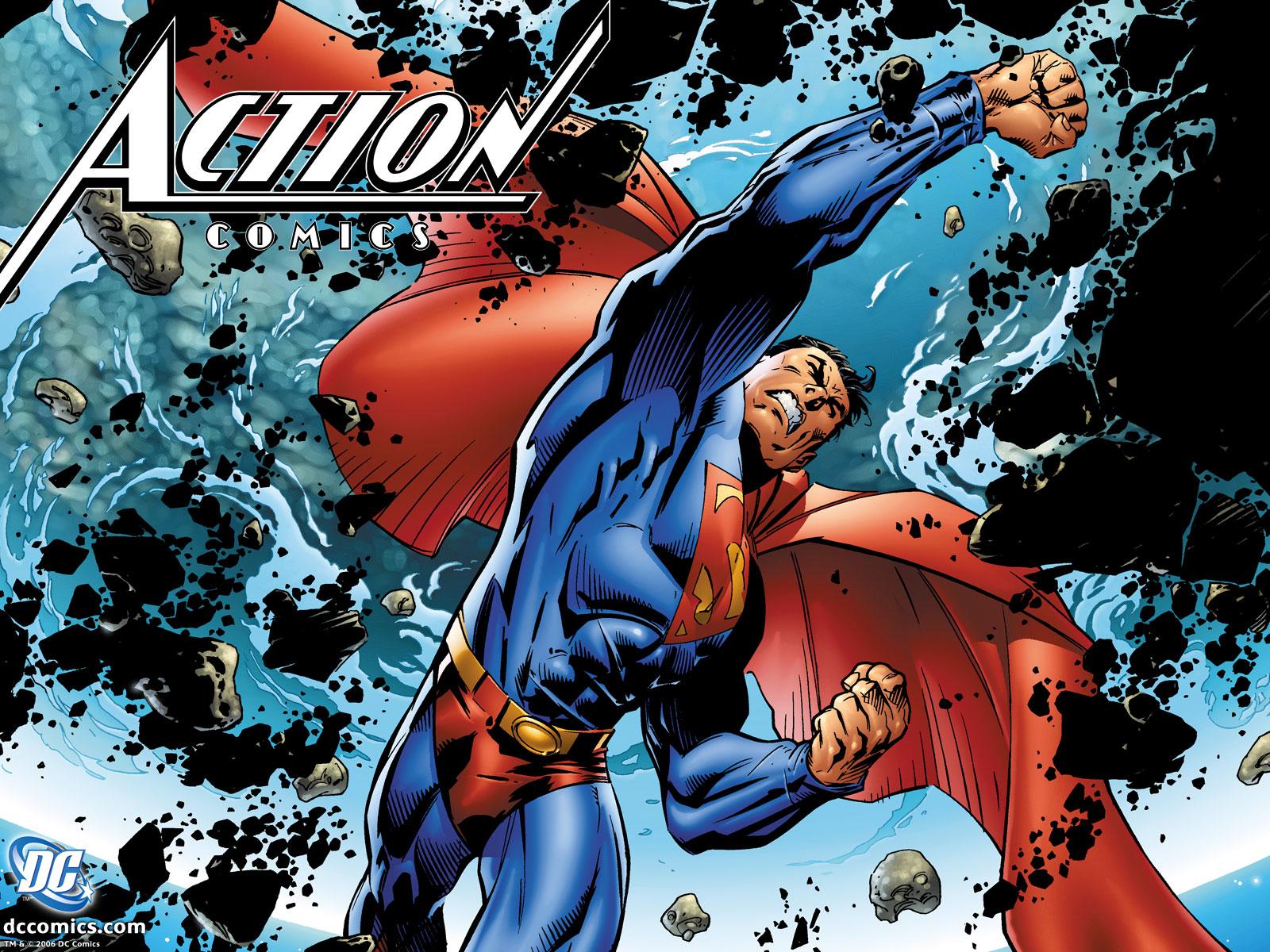 download superman comic wallpaper superman meteor 1600x1200