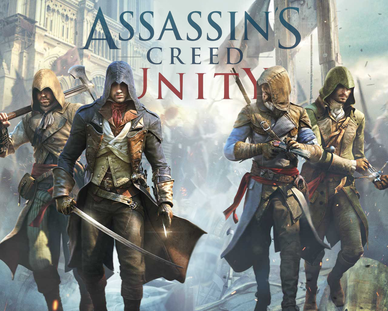 Assassin's Creed Unity Wallpaper 1920x1080 - WallpaperSafari
